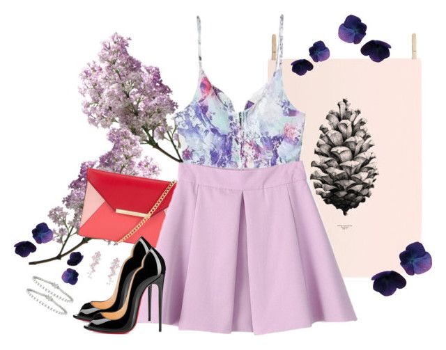 """Violet XXIIII"" by gabyidc ❤ liked on Polyvore"