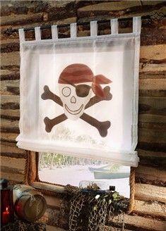 Pirates et corsaires : housse de couette pour enfant  - Accessoires et décoration pour la chambre des pirates