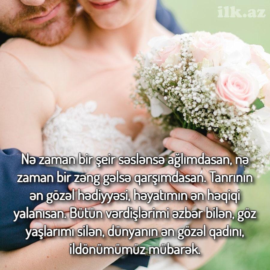 Təsirli Evlilik Ildonumu Mesaji In 2021