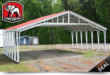 steel garage storage metal shed carports garages prefab kasperskorner and prefabricated kaspers