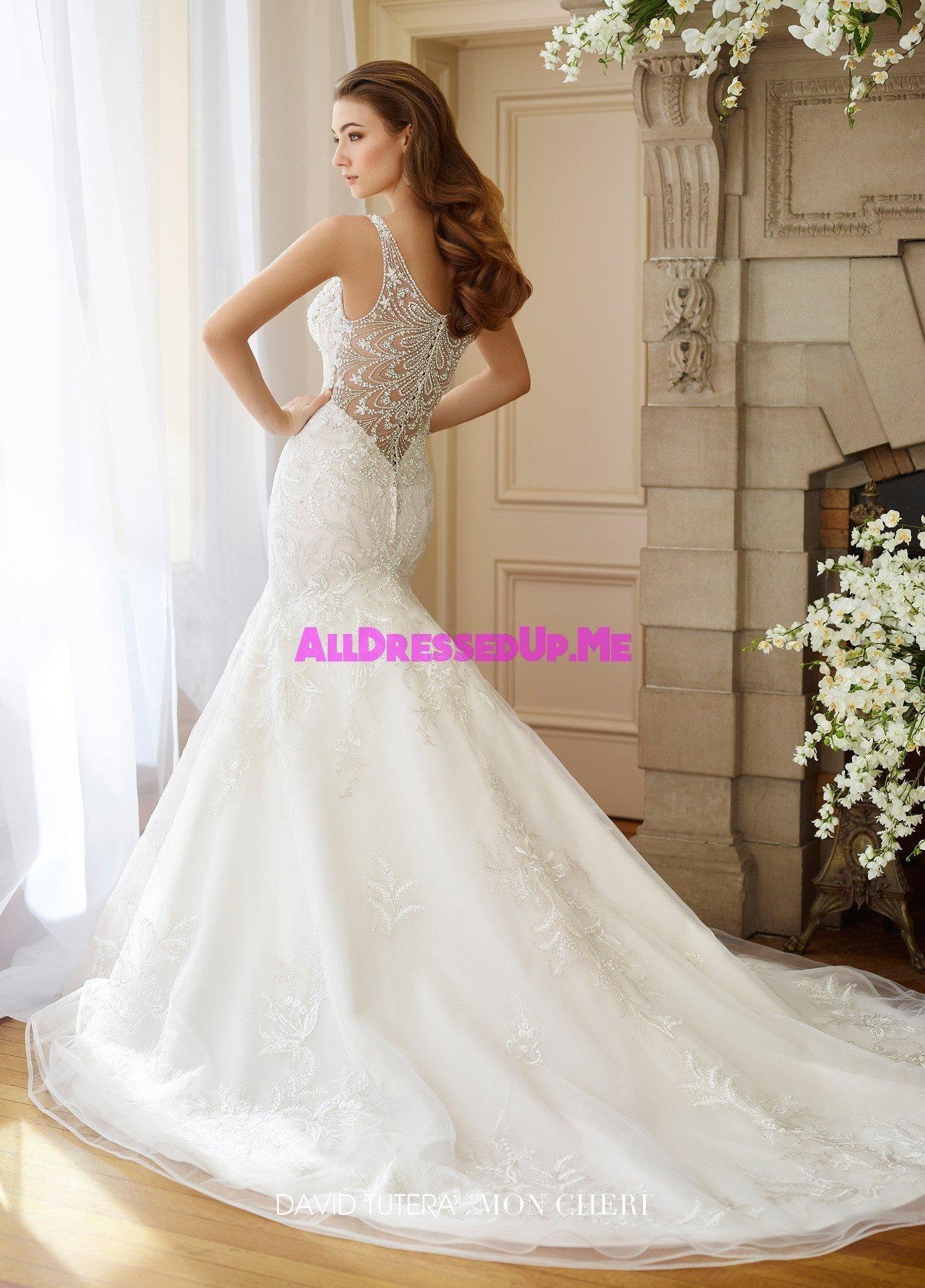 David Tutera 217208w Bess All Dressed Up Bridal Gown