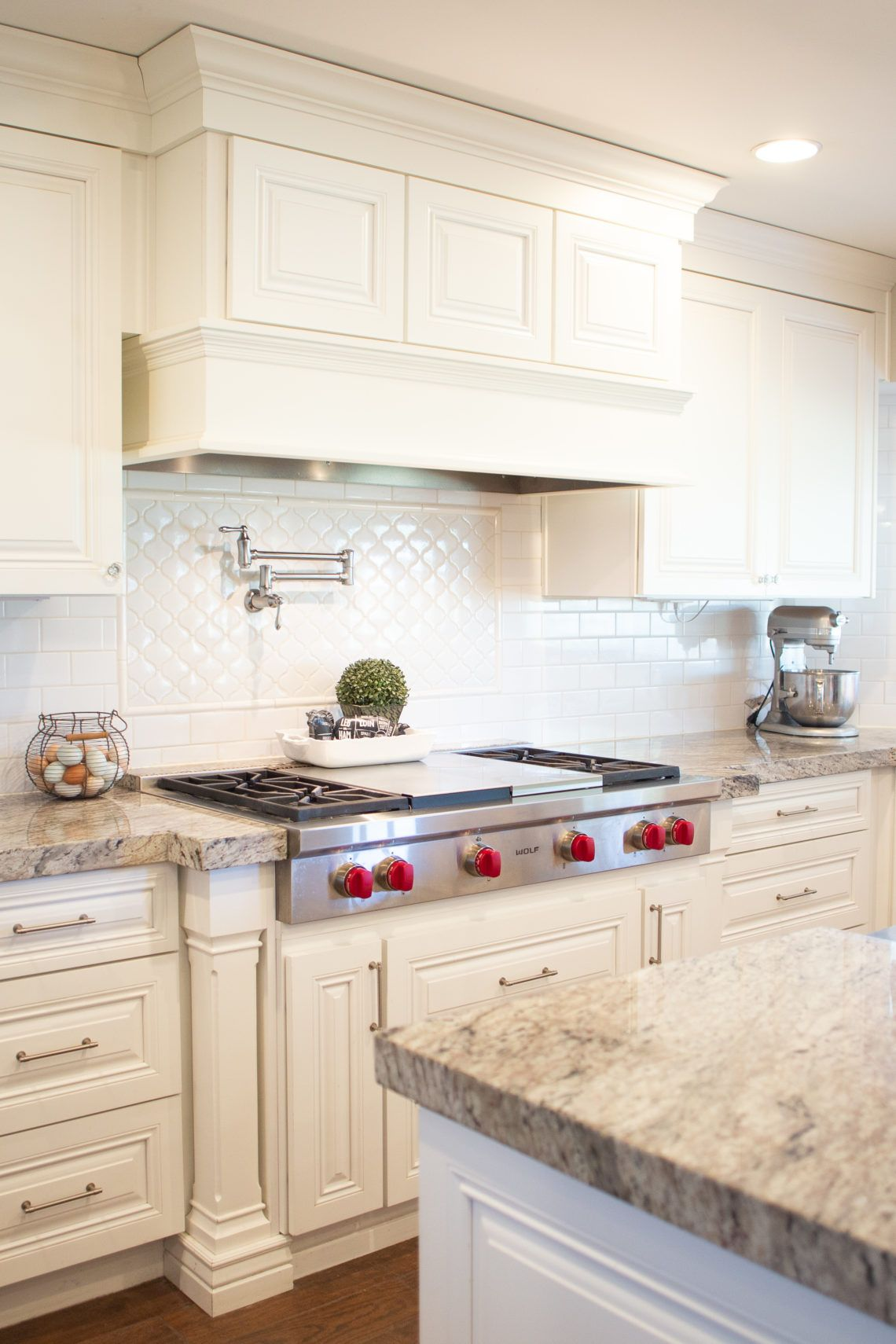Dream Kitchen White Cabinets Granite Wolf Appliances Check Out