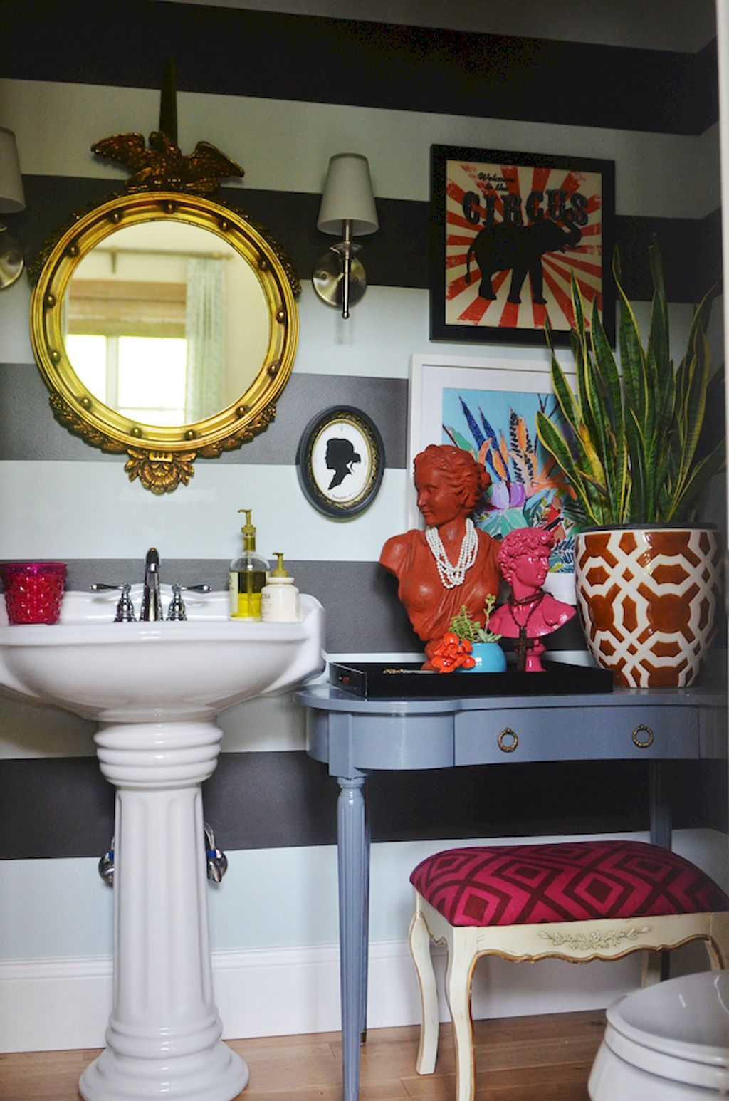 22 Eclectic Ideas Of Bathroom Wall Decor: 60 Eclectic Bathrooms Ideas Decoration