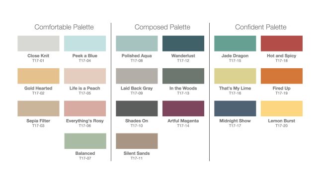 Behr 39 S 2017 Color Trends See All The Gorgeous Colors Laundry Bath Room Pinterest Design