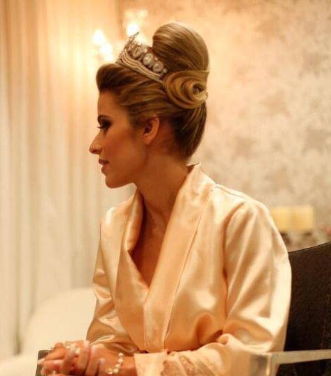 Lindo penteado para casamento