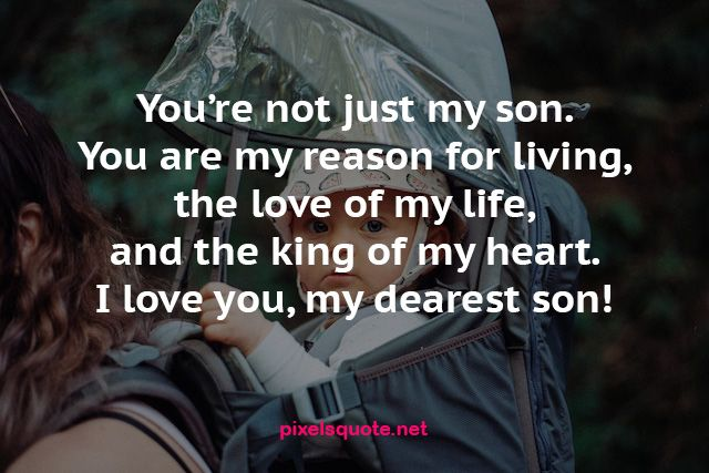 100 Dearest Son Quotes from Mom   PixelsQuote.Net