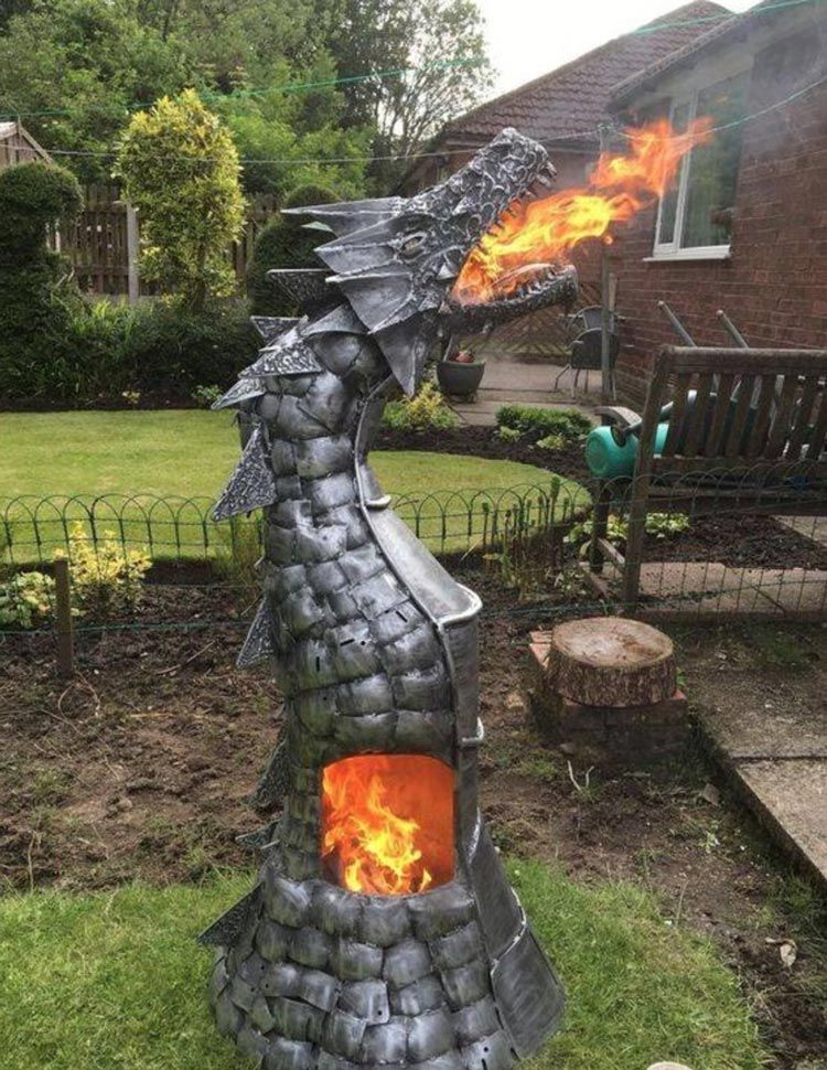 Fire breathing dragon pit - Fire Breathing Dragon Pit My Home <3 Pinterest Dragons