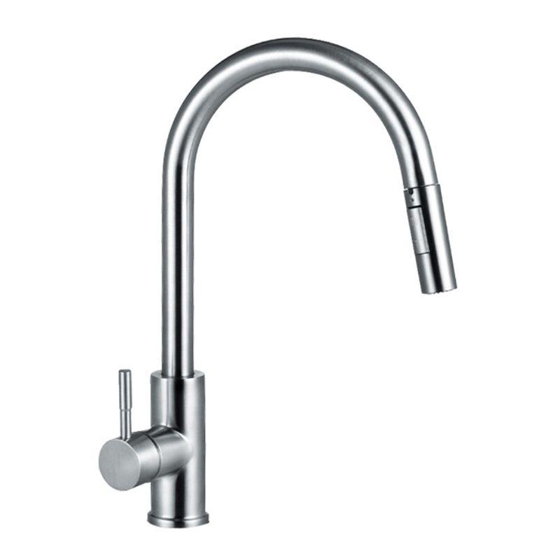 Intelligent Sensor Kitchen Faucet 304 Stainless Steel Kitchen
