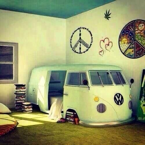 Cute Teen Beds cute teen room! hippie and peace! plur! | dream house and designs