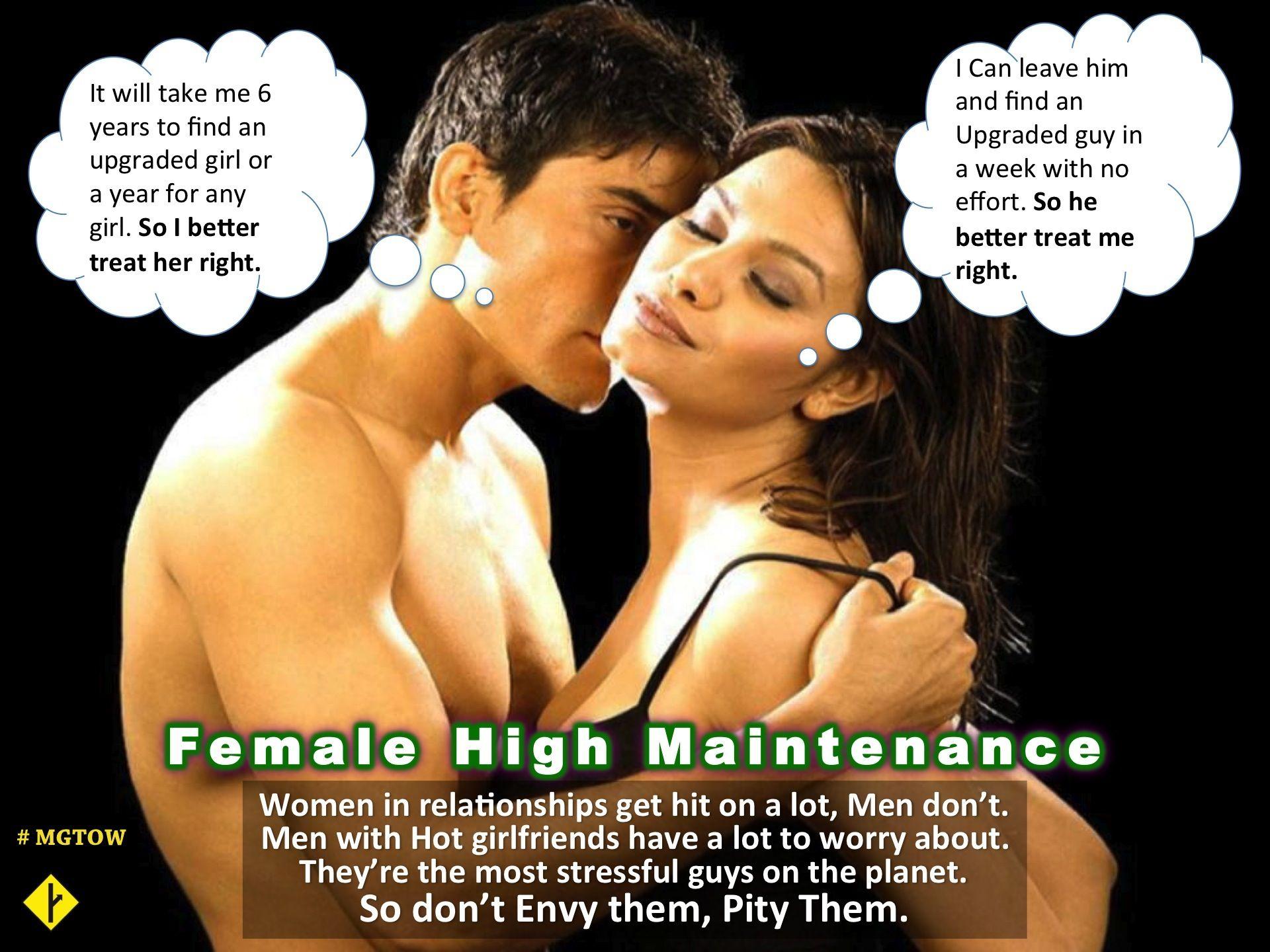 High maintenance men dating