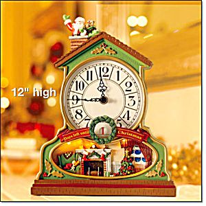 Countdown To Christmas Clock.Musical Christmas Countdown Clock Christmas Decorations