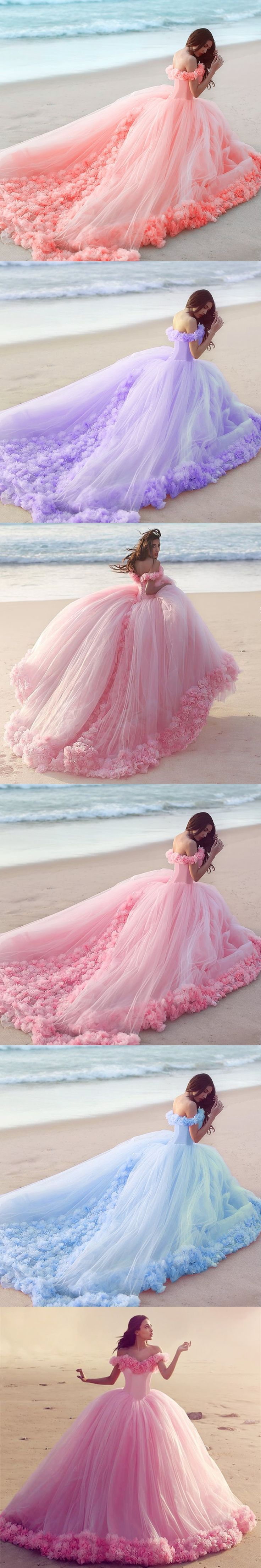 af2d3e792d32 Amazing Ball Gowns Floral Flower Dresses Swing in spring 2017! Available in  pink,coral,lilac,lavender ,light blue color as your quinceanera dresses! it  will ...