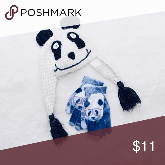 75c306eea6114 Hot Topic · Animal · Guantes · Sombreros · Invierno · Winter Panda Bundle  Bundle including panda hat and panda gloves