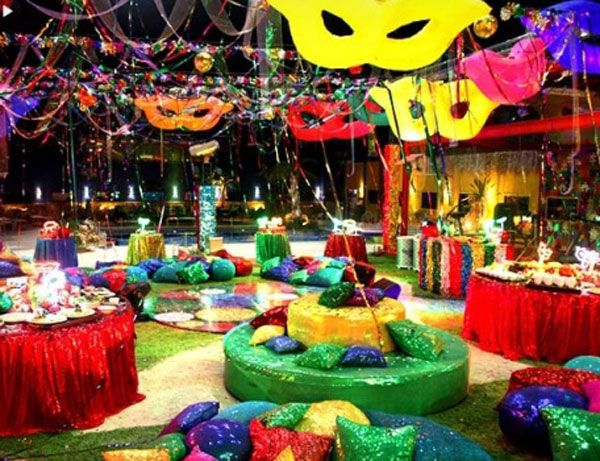 Decor carnaval 600 461 pixels festas pinterest for Decoration carnaval