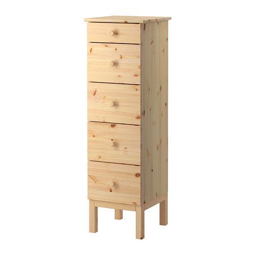 IKEA - TARVA, Ladekast 5 lades, , Gemaakt van massief hout, een ...