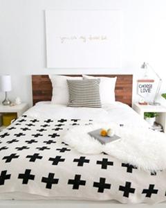 Lichte kleuren in je kleine slaapkamer | Slaapkamer | Pinterest
