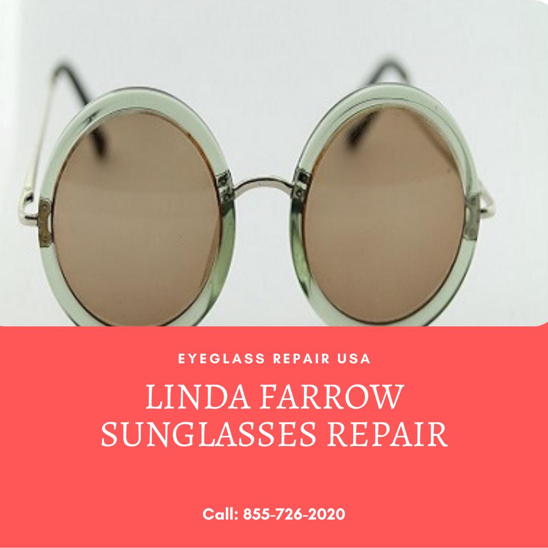 Linda Farrow Sunglasses Repair In 2021 Linda Farrow Sunglasses Linda Farrow Sunglasses