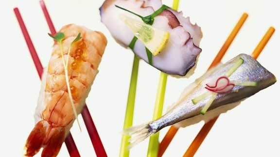 Rezept: Verschiedene Sushi