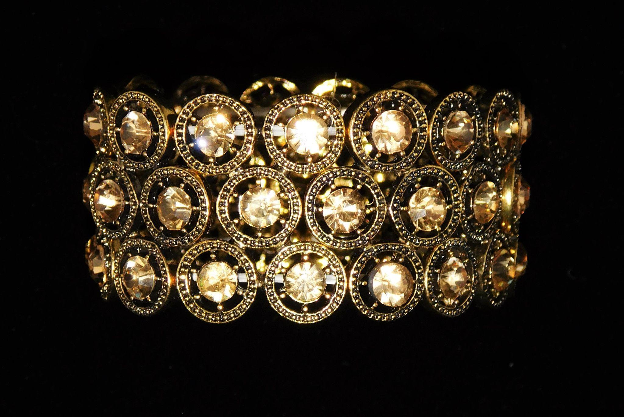 Triple Row Bracelet