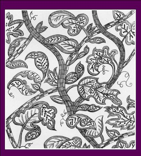 200 Antique English Embroidery Patterns Designs Lessons Pinterest