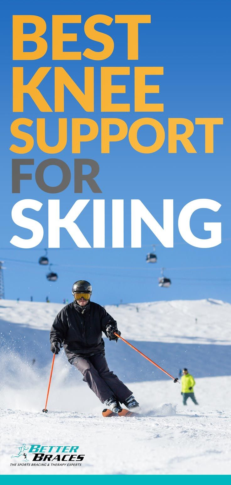 1d217bc2de Downhill #skiing always presents risks of knee injury. Stop pain before it stops  you with the right #brace.