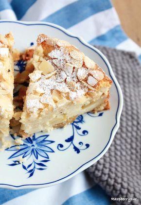 Herbstlicher Apfel Mandel Kuchen Mit Quark Kuchen Pinterest