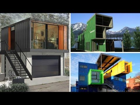 50 Cool Shipping Container Homes Ideas Youtube בניה ממכולה In