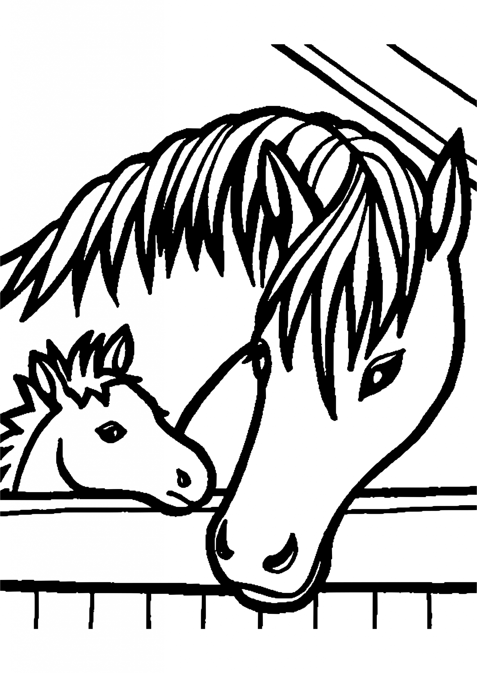 Horse Jumping Coloring Page Youngandtae Com Horse Coloring Pages Farm Animal Coloring Pages Horse Coloring
