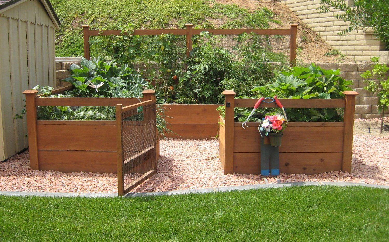 amazon: just add lumber vegetable garden kit - 8'x12' deluxe