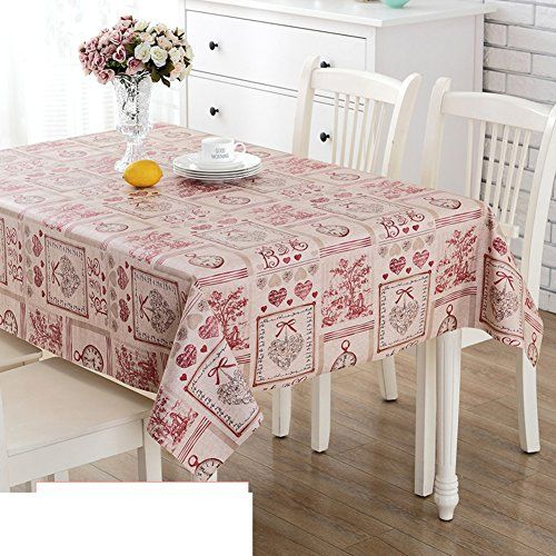 Tablecloth Pvc Table Cloth Waterproof Disposable Plastic