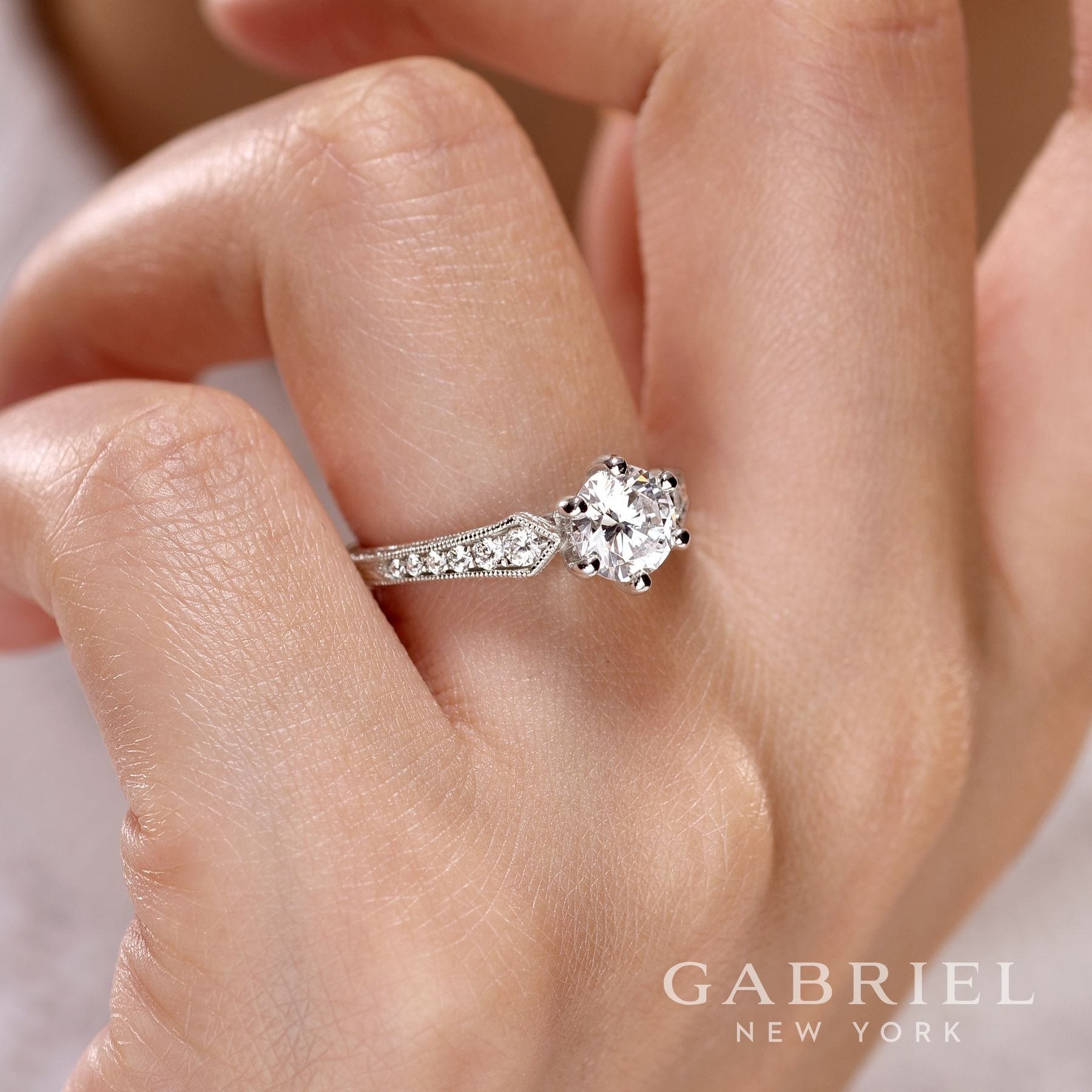 For a once in a lifetime love...   Propose with Gabriel & Co. from Siebke Hoyt