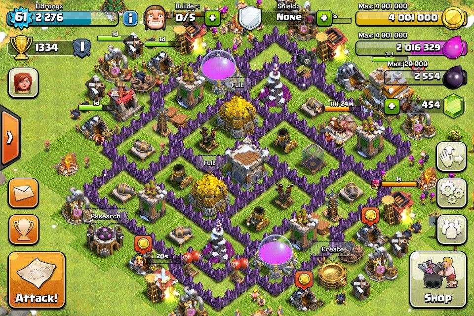 Clash of Clans | Top 5 TH7 Base Builds best so far i think  www.clasherlab.com Visit For Website For Laster Clash of clans Cont… | Clash  of clans, Clas of clan, Clan
