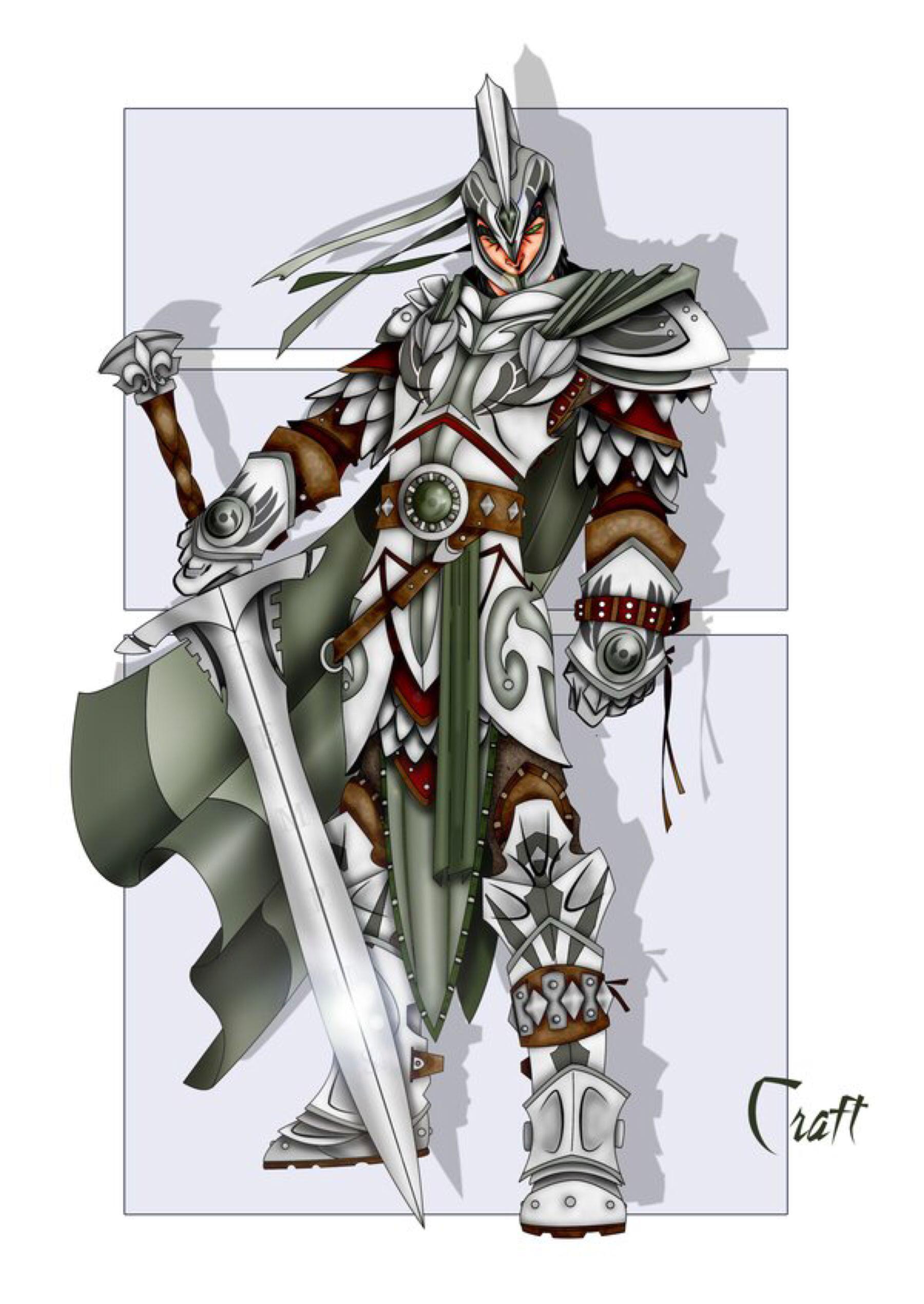 TEMPUS by grandanvil on @DeviantArt | D&D Characters | Fantasy