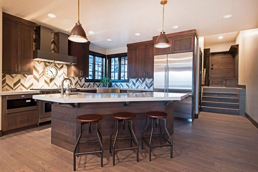 53 high end contemporary kitchen designs with natural for Kitchen design utah
