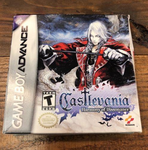Castlevania Harmony Of Dissonance Nintendo Game Boy Advance 2002 CIB