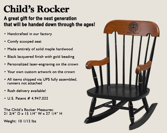 Child Rocker With Toddler Rocking Chairs