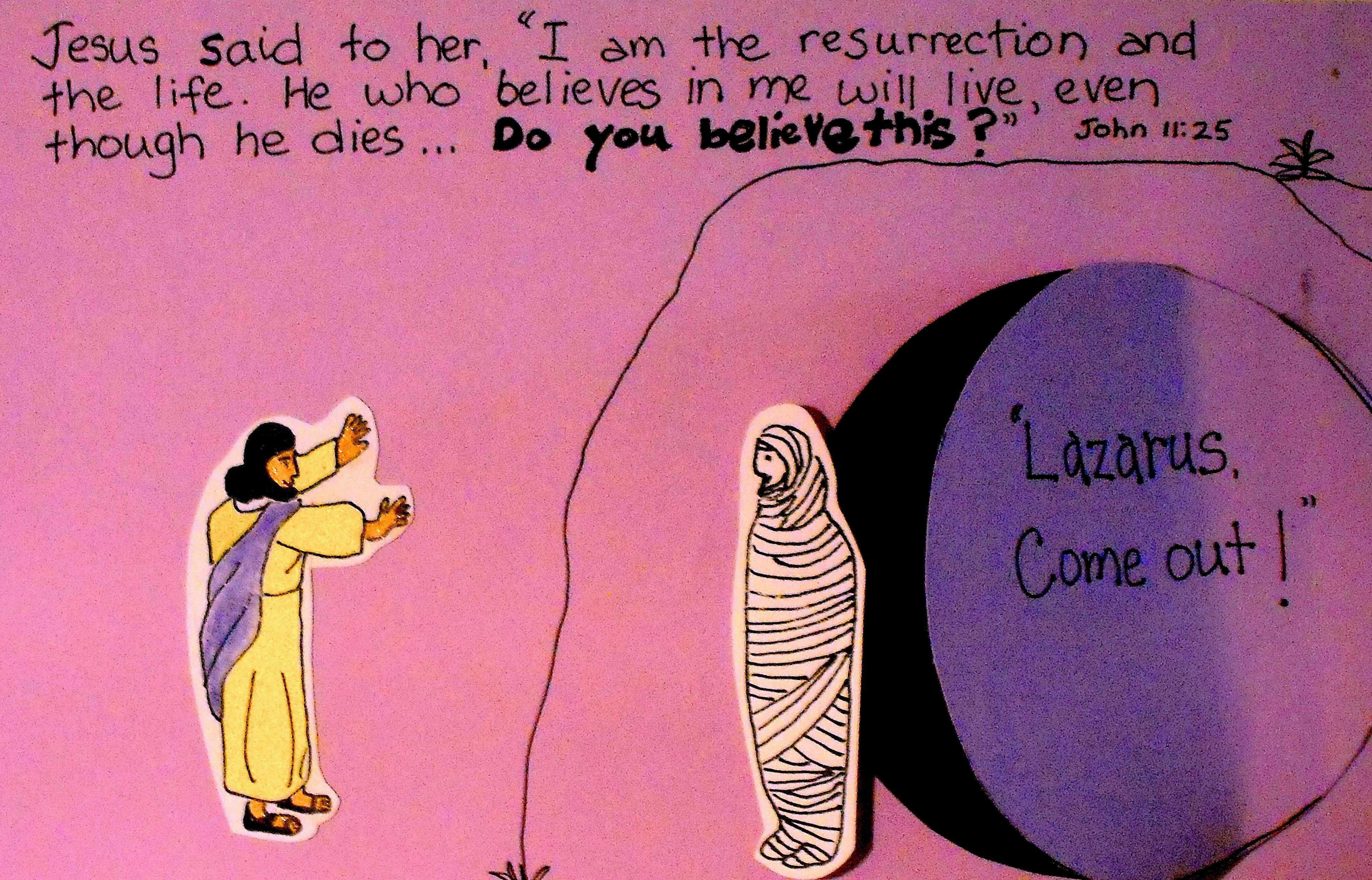 Lazarus, Come out | Covenant Kidz | Pinterest | Sunday school