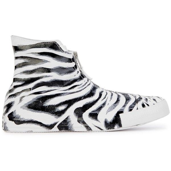 a56c972143261e Womens Hi-Top Trainers Converse Chuck Taylor Snow Tiger-print Hi-top...  ( 120) ❤ liked on Polyvore featuring shoes