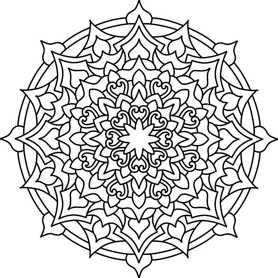 Pin by Marsha Maramba on coloring pages | Mandala coloring ...