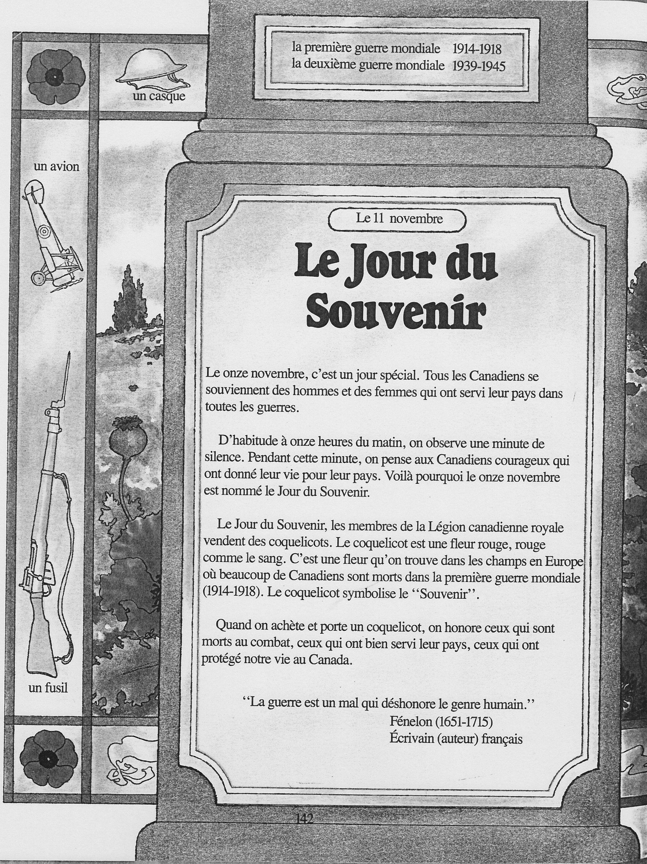 11 Novembre Le Jour Du Souvenir