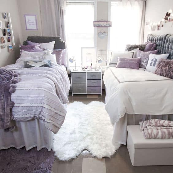 31 Insanely Cute Dorm Room Ideas for Girls To Copy This Year - By Sophia Lee