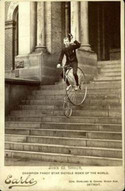 Cartes De Visite Bicycle