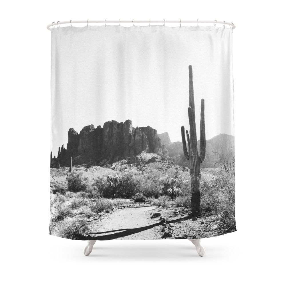 Arizona Desert Shower Curtain By Iiixvi Designer Shower Curtains
