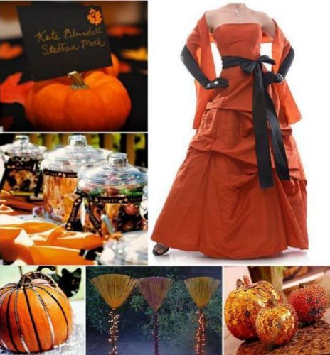 October Outdoor Wedding Ideas: Halloween Wedding Ideas (Source