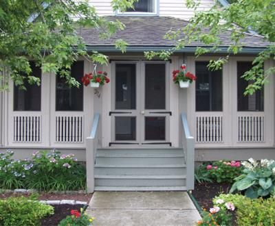 screen porch systems lowes window retrofit screened small buildings sheds cabanas pool houses retractable
