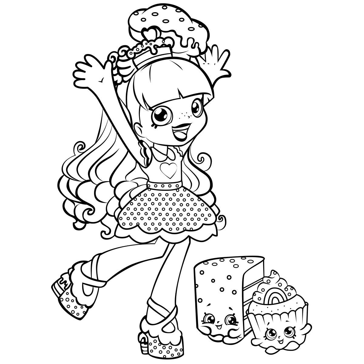 coloring.rocks!  Shopkins colouring pages, Shopkin coloring pages