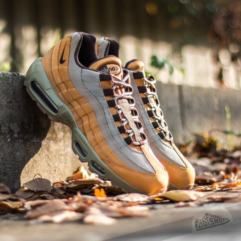 big sale 7660a 0eaa9 Nike Air Max 95 Premium Bronze  Baroque Brown-Bamboo - Footshop