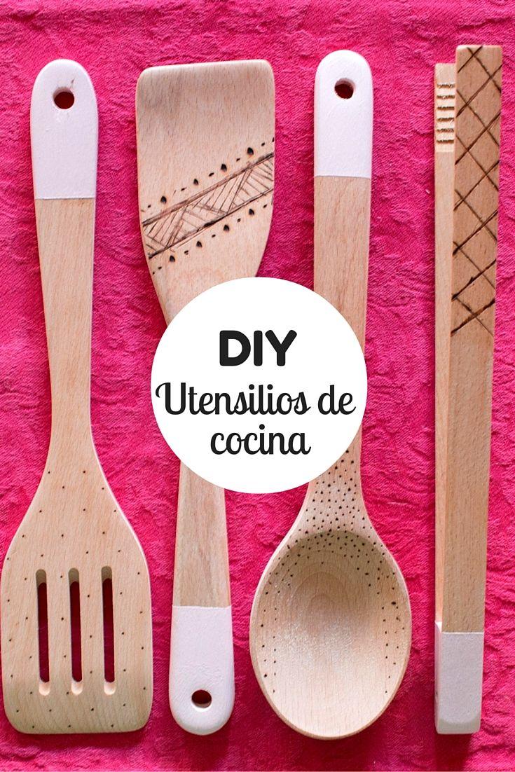 C mo decorar utensilios de cocina ideas para la cocina - Utensilios cocina originales ...