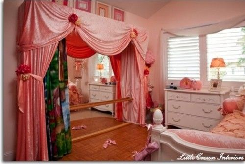 Exceptional Cute Idea For Ballet Barre In Bedroom