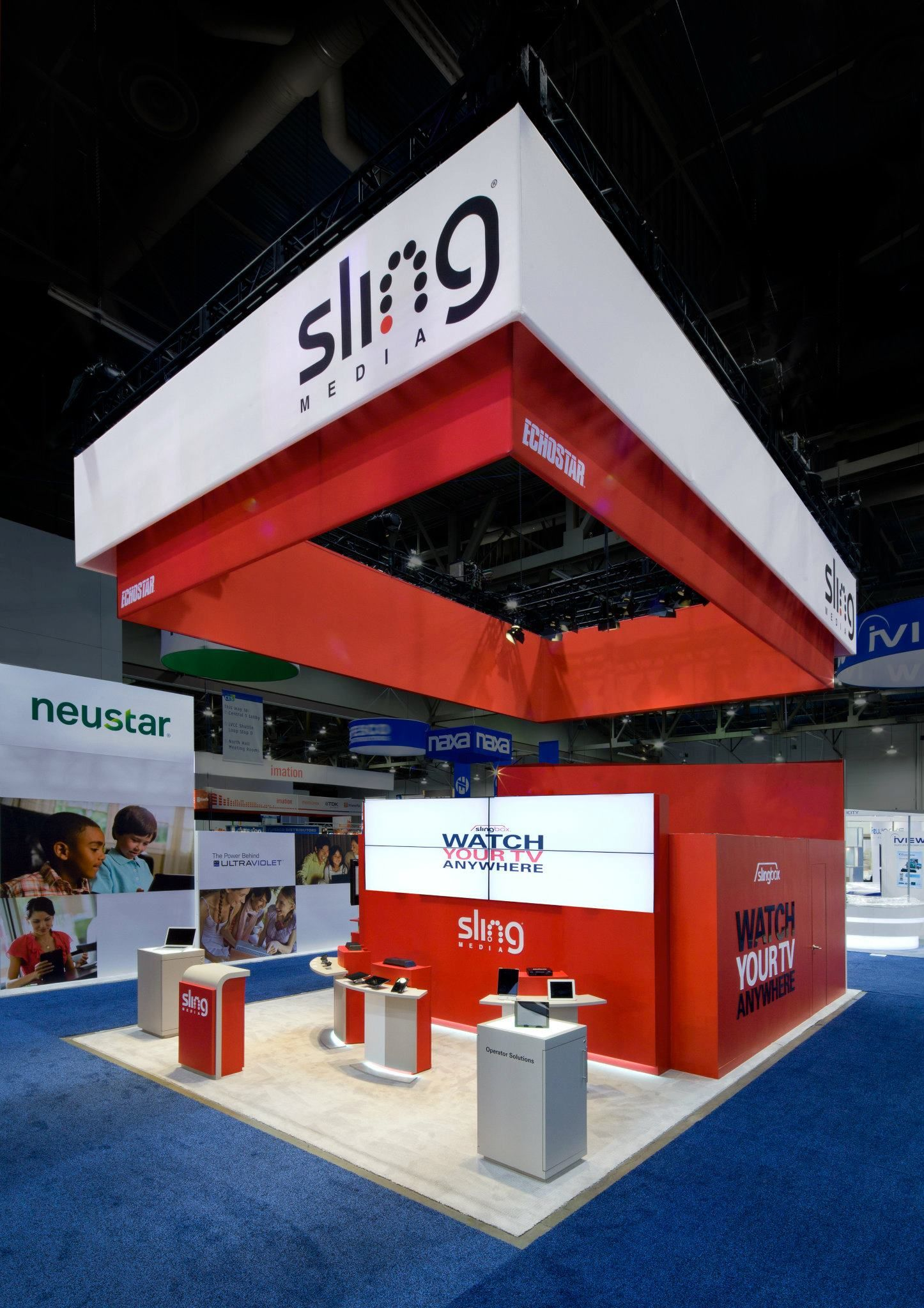 2011 sling usa trade show booth design exhibition